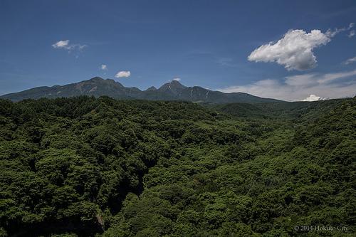 八ヶ岳(北杜市HPフォトギャラリーより)